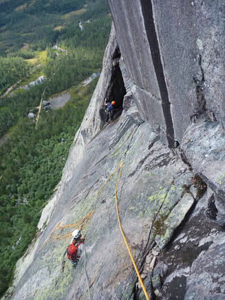 norway trad climbing